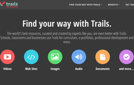 trails.by: learner-driven collaborative community